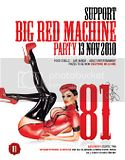 Support 81 Big Red Machine Party